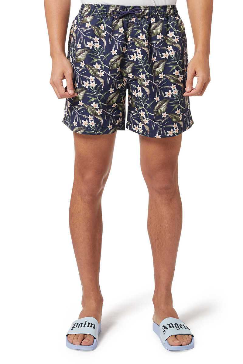 All-Over Logo Swim Shorts image number 1