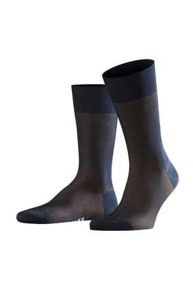 Fine Shadow Wool Socks