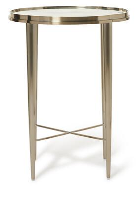 Metal Chair Side Table