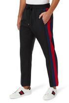 Wool Stripe Pants