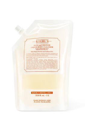 Grapefruit Bath & Shower Liquid Body Cleanser Refill Pouch