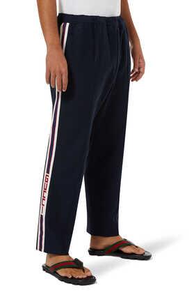 Logo Stripe Jogging Pants