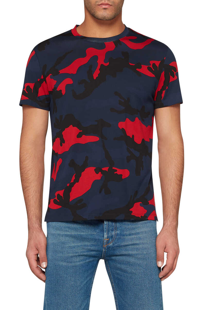 Camouflage Print T-Shirt image number 5
