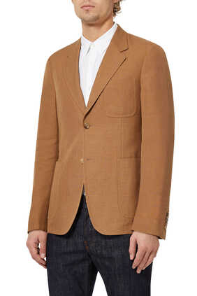 Palma Wool-Cotton Blazer