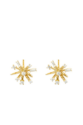 Petite Supernova Stud Earrings