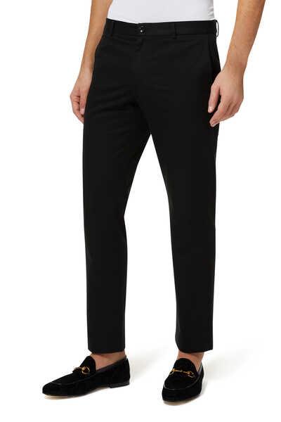 Cotton Logo Pants