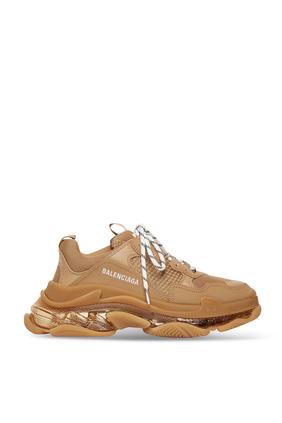Triple S Clear Sole Sneakers