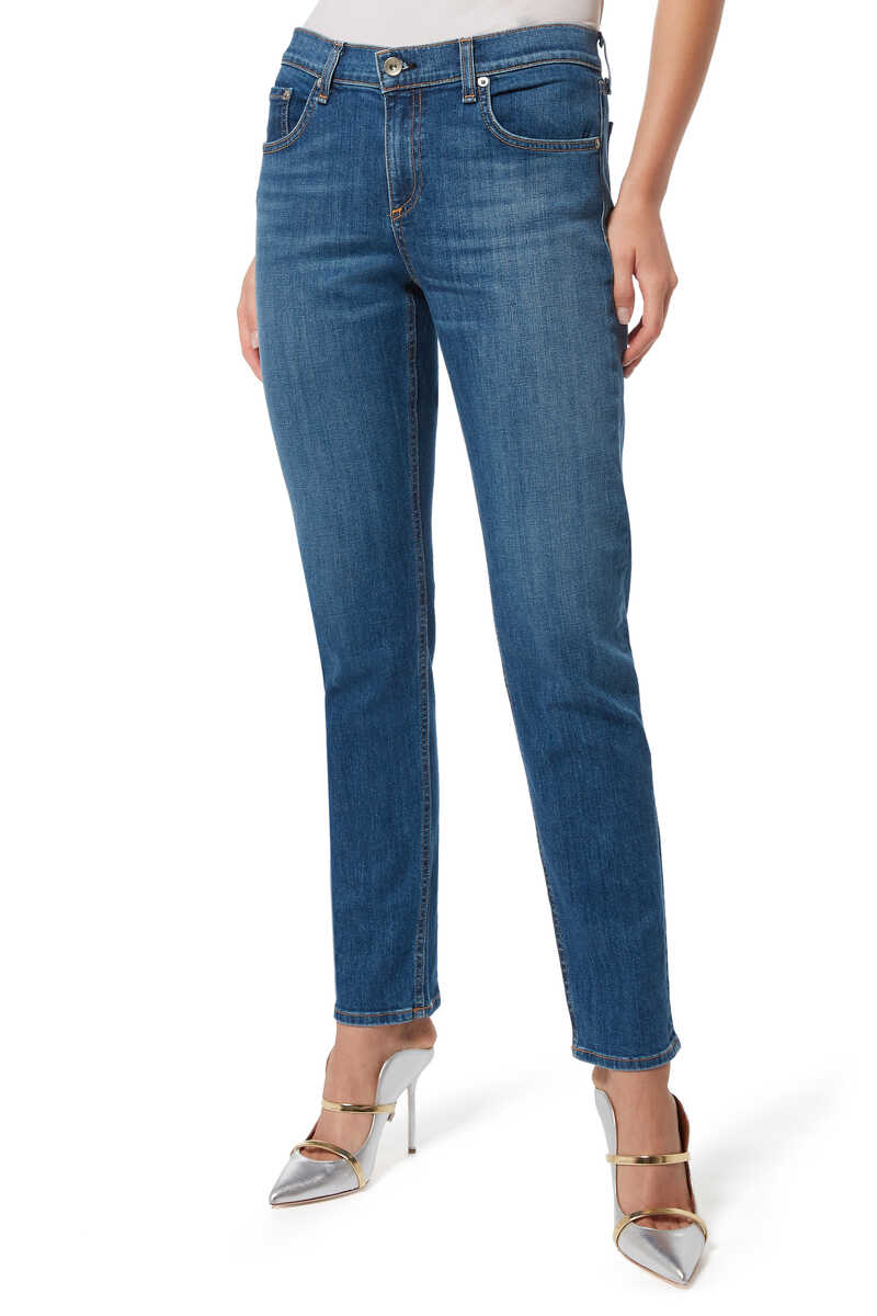 Dre Slim Cut Denim Jeans image number 1