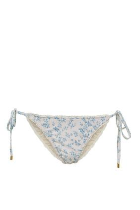 Porcelain String Bikini Bottoms
