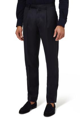 Straight Trouser Pants