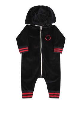 Hooded Chenille Bodysuit
