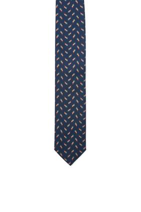 Vegetable Print Tie