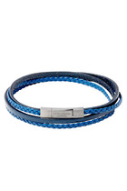 Fettuccini Multi-Strand Leather Bracelet