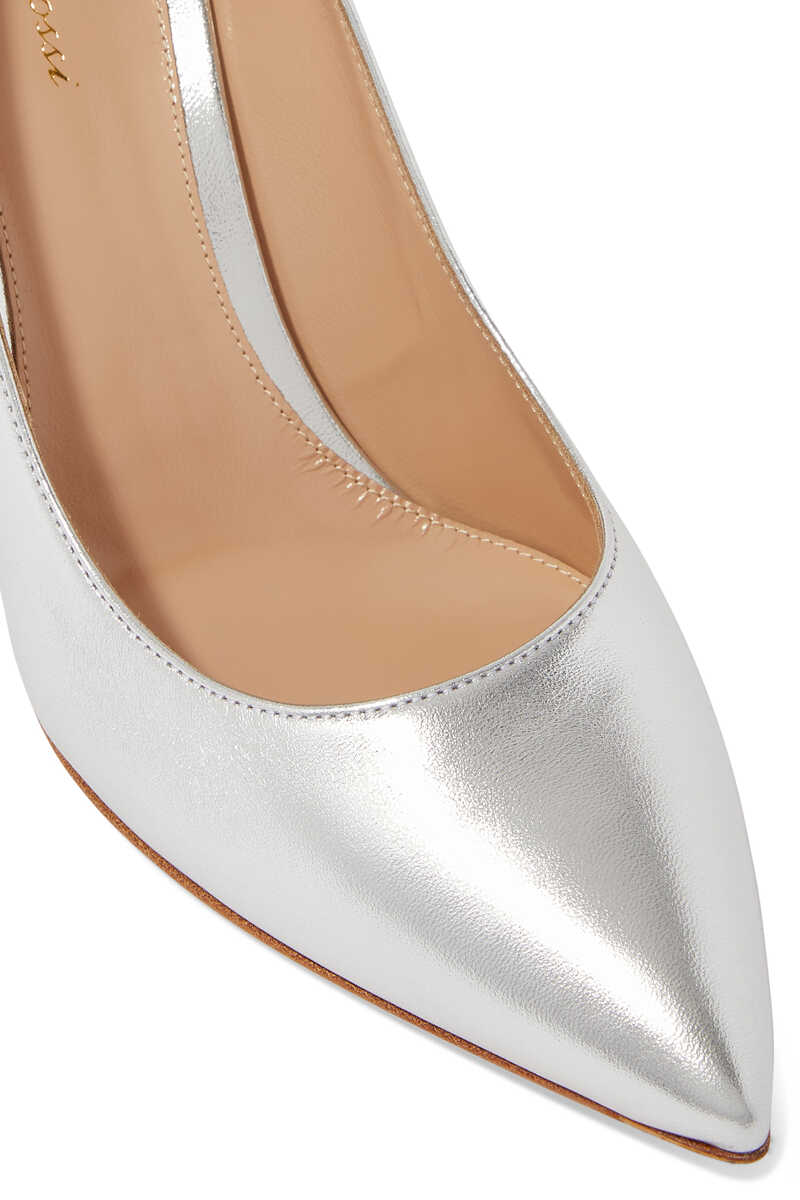 85 Metallic Leather Pumps image thumbnail number 3