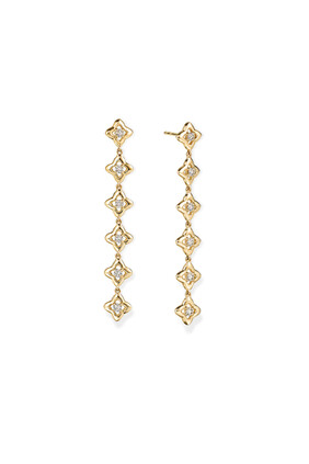Quad® Diamond Drop Earrings