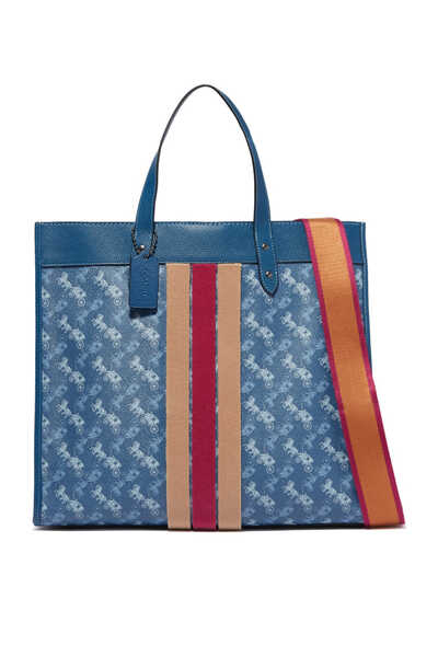 Field Tote 40 Horse and Carriage Print Bag