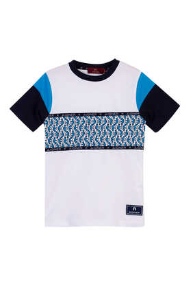 Logo Graphic Cotton T-Shirt
