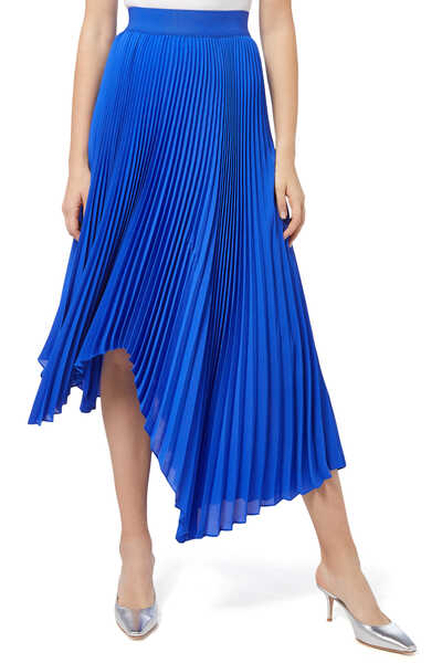 Koryn Asmmetric Pleated skirt