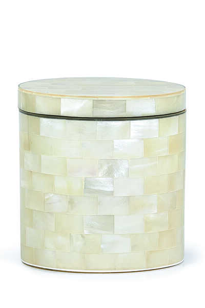 White Agate Canister
