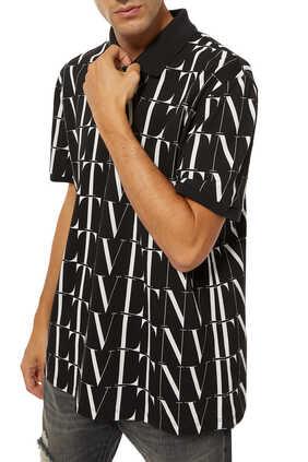 VLTN Cotton Polo Shirt