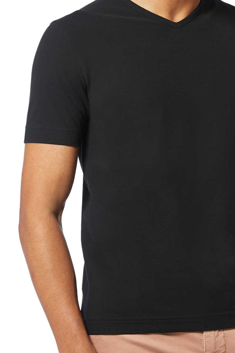 Ice Cotton V-Neck T-Shirt image thumbnail number 4