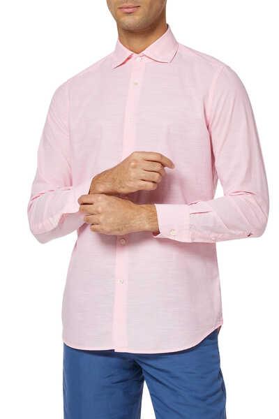 Fil A Fil Cotton Shirt