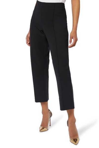 Pintuck Stove Pipe Pants