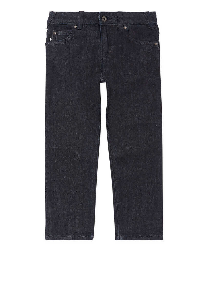 Medium Wash Denim Jeans image number 1