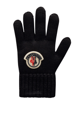 Wool Logo Gloves