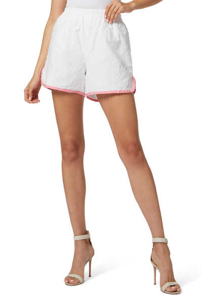 Leigh High-Waist Shorts