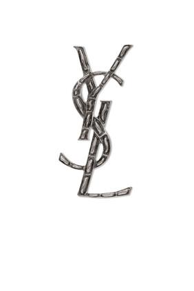 Silver Brass Brooch