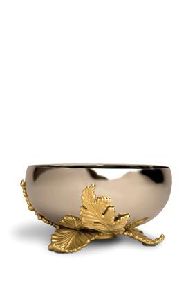 Gold Plated Large Lamina Bowl