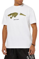 Crocodile Print T-Shirt