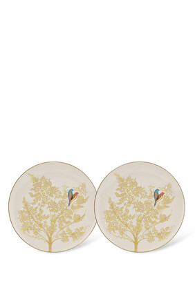 Cake Plates, Set of Two