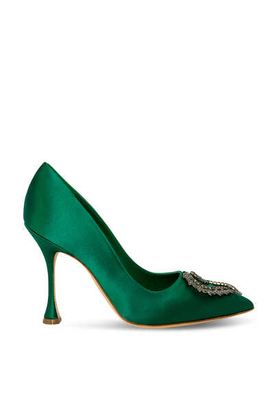 Trona Satin Pumps