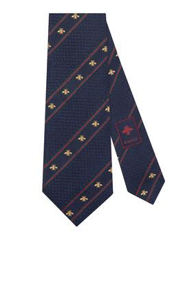 Bee Web Silk Tie