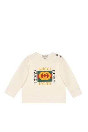 Vintage Logo Crewneck Sweatshirt