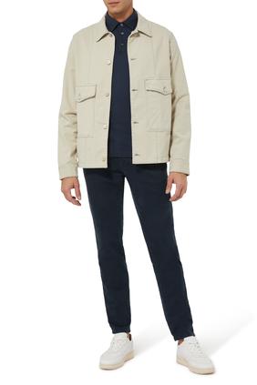 Interlock Pima Jersey Polo Shirt