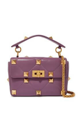 Valentino Garavani Roman Stud Leather Bag