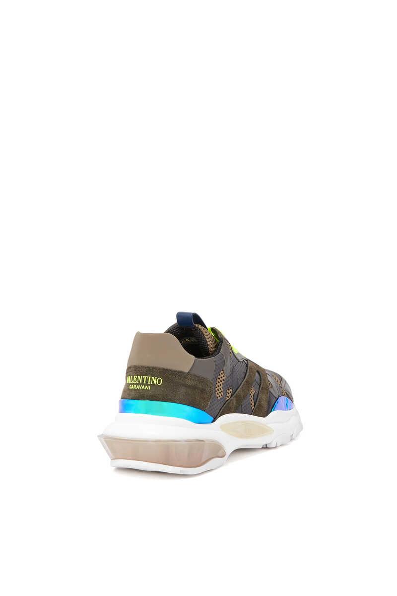 Valentino Garavani Bounce Camouflage Sneakers image number 3