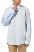 Collage Button Down Shirt