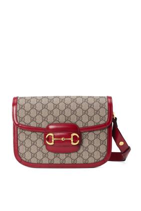 Gucci 1955 GG Horsebit Shoulder Bag