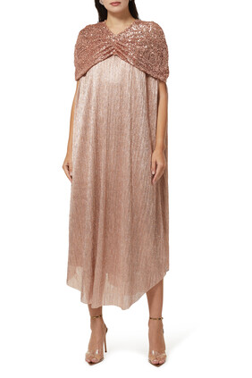 Signature Metallic Kaftan
