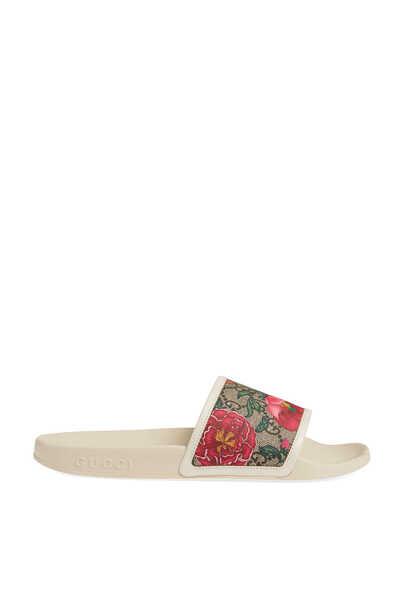 GG Floral Slides