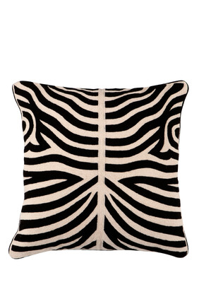 Zebra Print Pillow