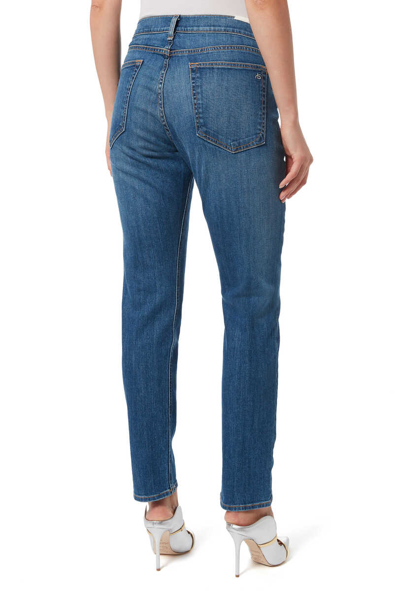 Dre Slim Cut Denim Jeans image number 3