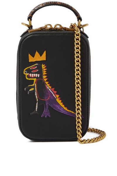 X Jean-Michel Basquiat Alie Camera Bag