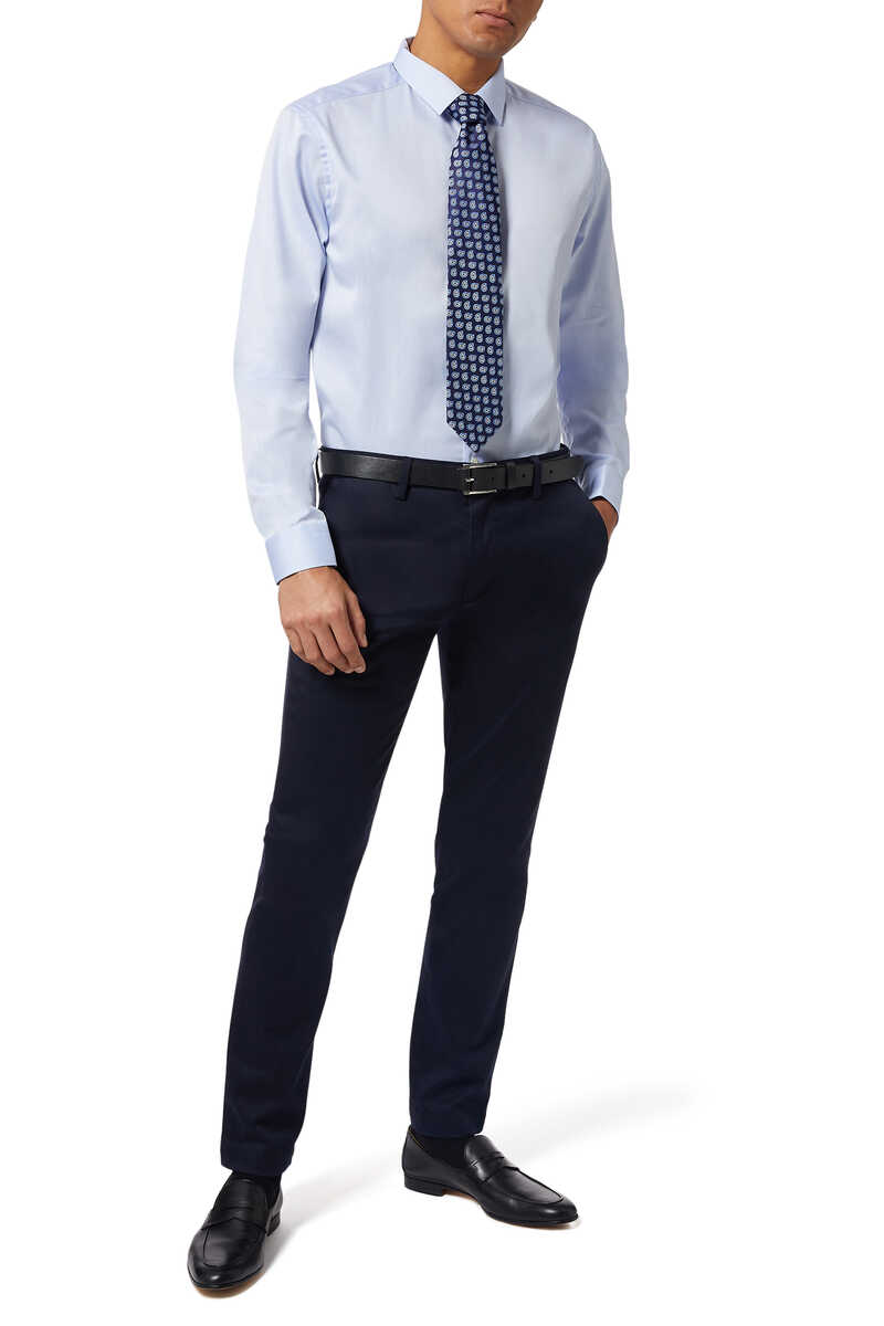 Super Slim Fit Signature Twill Shirt image thumbnail number 2