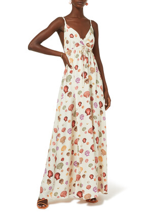 Sachi Coral Shell Dress