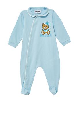 Bear Logo Sleepsuit